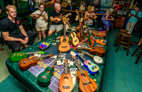 Green Parrot Ukelele Society August 2014